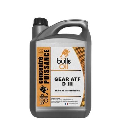 Huile de Transmission Bulls Oil Gear ATF D III