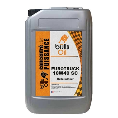 Huile moteur Bulls Oil Eurotruck 10W40 SC