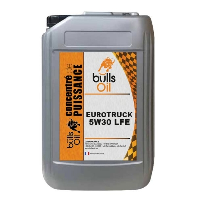 Huile moteur Bulls Oil Eurotruck 5W30 LFE
