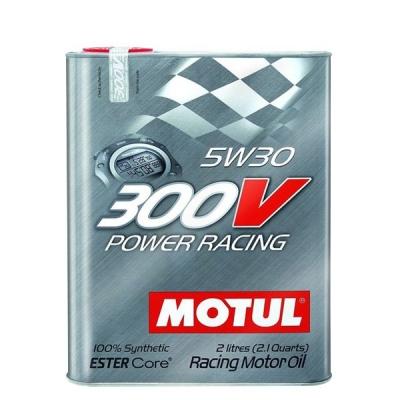 Huile moteur Motul 300V 5W30 Power Racing