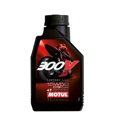 Huile moteur Motul 300V Factory Line Road Racing 15W50