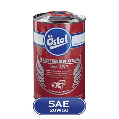 Huile moteur Ostol Oldtimer oil SAE 20W50 - 1L Huile moteur Ostol Oldtimer Oil SAE 20W50