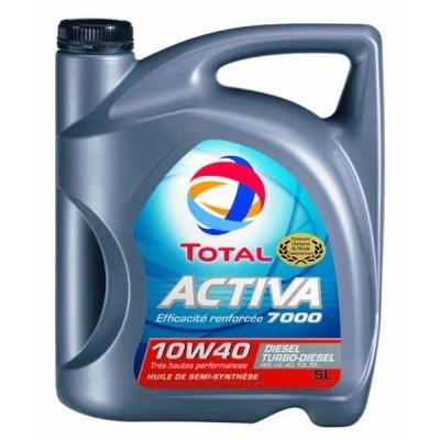 Huile moteur Total Activa 7000 Diesel 10W40