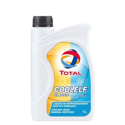 Liquide de refroidissement Total Coolelf classic -26°C