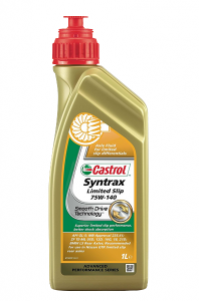 Huile transmission Castrol Syntrax Limited Slip 75W140